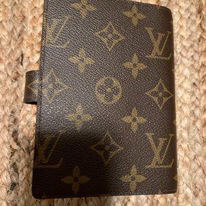 Louis Vuitton Accessories - Louis Vuitton PM agenda cover